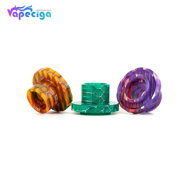 REEVAPE AS129S Resin Replacement Drip Tip For Aspire Cleito 120 Tank 3 Colors Display