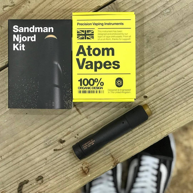 ATOM Sandman Mech Mod Njord RDA Kit Package Contents