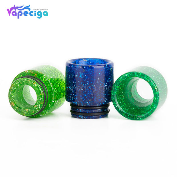 REEVAPE AS116E 810 Resin Replacement Drip Tip Colors Show