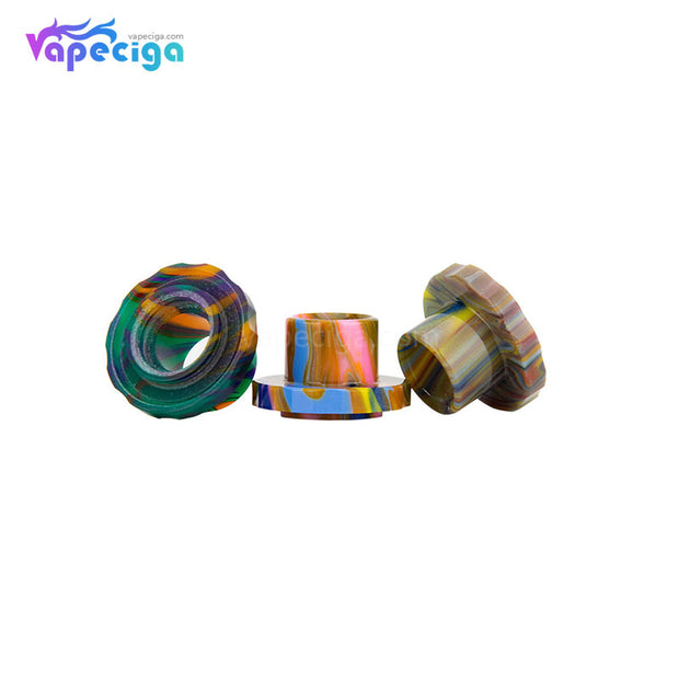 REEVAPE AS129 Resin Replacement Drip Tip For Aspire Cleito 120 Tank 3 Colors Display
