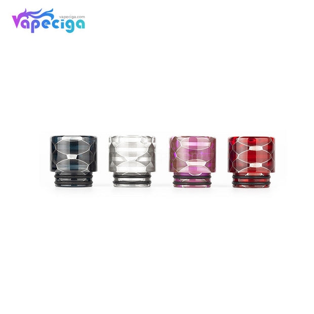 REEVAPE AS116S Transparent 810 Replacement Drip Tip 4 Colors Display