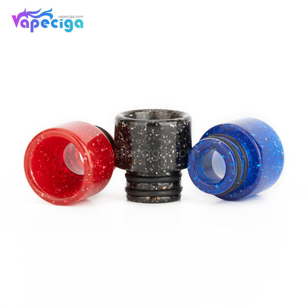 REEVAPE AS115E 510 Resin Replacement Drip Tip 3 Colors Display