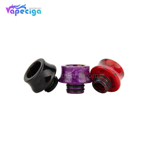 REEVAPE AS122 510 Resin Replacement Drip Tip 3 Colors Display