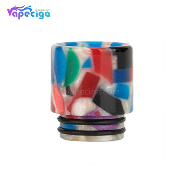 White REEVAPE AS116D 810 Resin Replacement Drip Tip