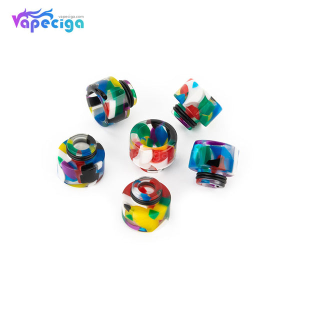 REEVAPE AS138D 510 Resin Replacement Drip Tip 6 Colors Display