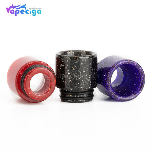 REEVAPE AS116E 810 Resin Replacement Drip Tip 3 Colors Display
