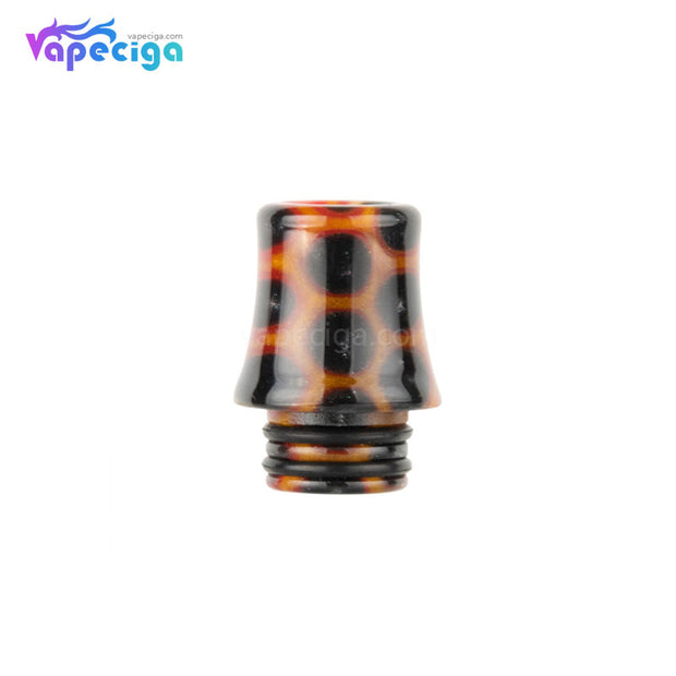 Orange REEVAPE AS254SR 510 Resin Replacement Drip Tip