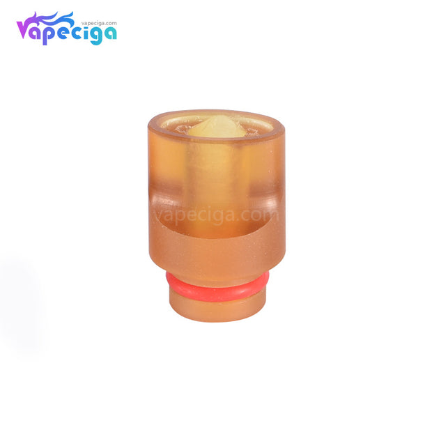 Yellow 510 Big Whistle Drip Tip Stainless Steel + POM + PEI