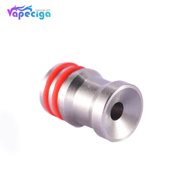 SS 510 DC Style Drip Tip Stainless Steel + POM + PEI Display