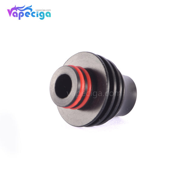 Black 510 Hellfire Drip Tip Stainless Steel + POM + PEI Bottom Display