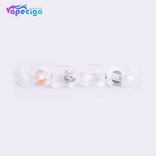 510 MTL Hourglass Drip Tip Stainless Steel + POM + PEI 4PCs