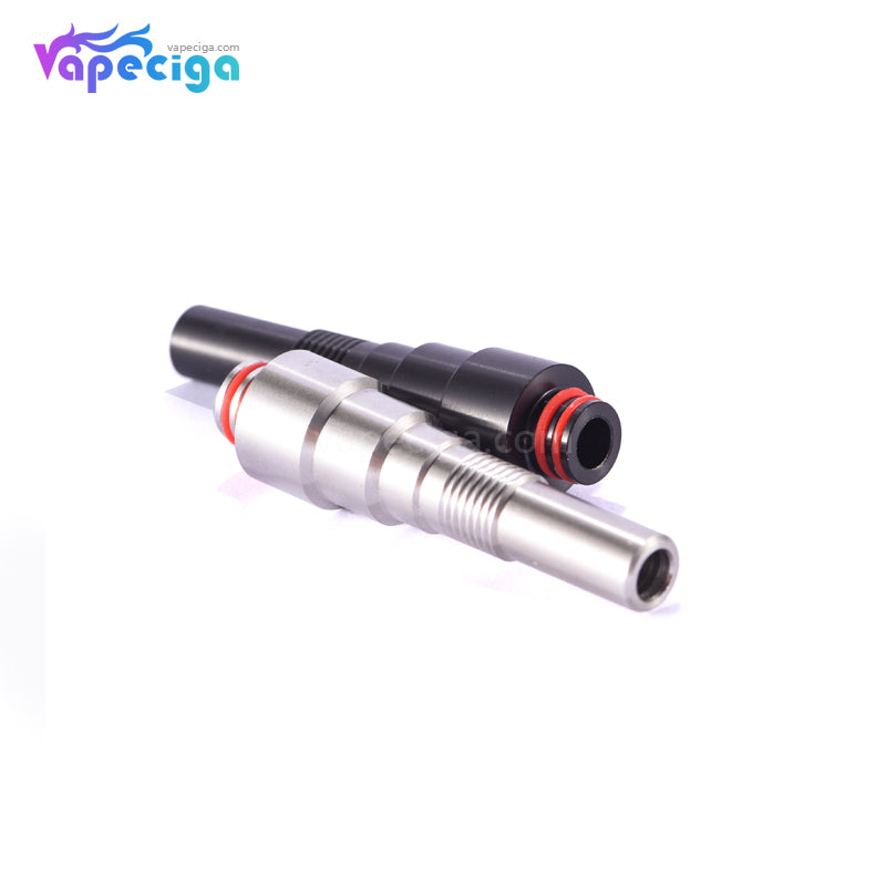 510 Tower Style Long Drip Tip Stainless Steel 5.5cm 2PCs