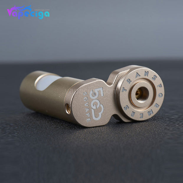 5GVape Transformers Squonk Bottle 8ml Gold