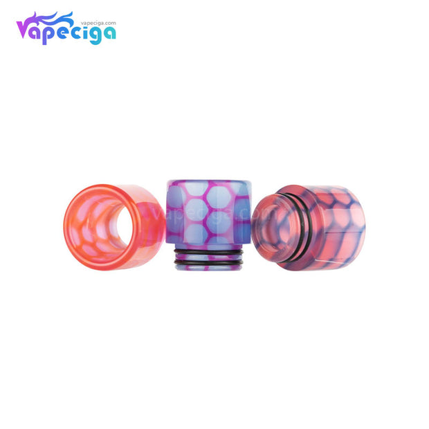 REEVAPE AS252WY  Universal 810 Resin Replacement Drip Tip 3 Colors Available