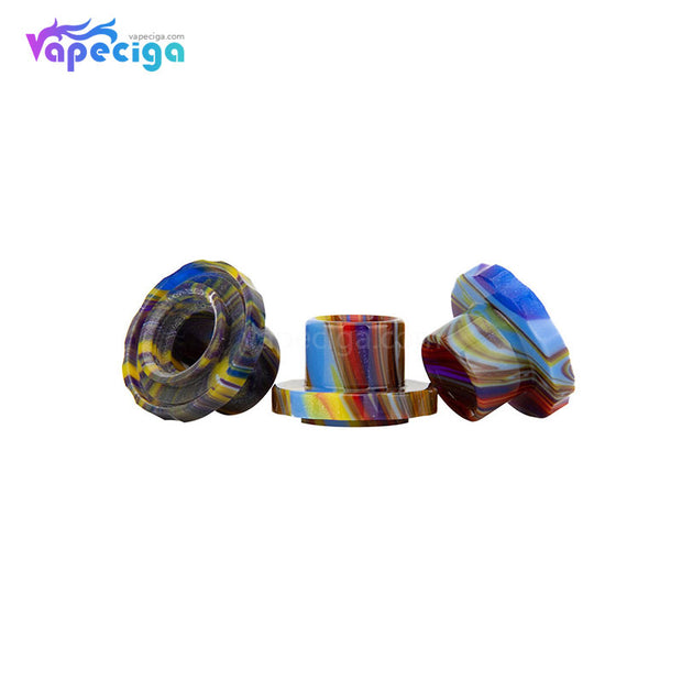 REEVAPE AS129 Resin Replacement Drip Tip For Aspire Cleito 120 Tank 3 Colors Real Shots