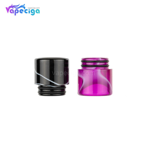 Black & Red REEVAPE AS240 Universal 810 Resin Replacement Drip Tip Display