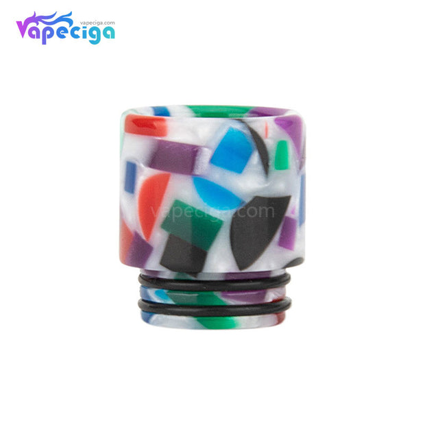 Ivory White REEVAPE AS116D 810 Resin Replacement Drip Tip