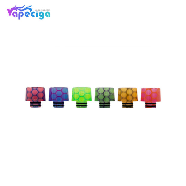 REEVAPE AS250WY Universal 510 Resin Replacement Drip Tip 6 Colors Available