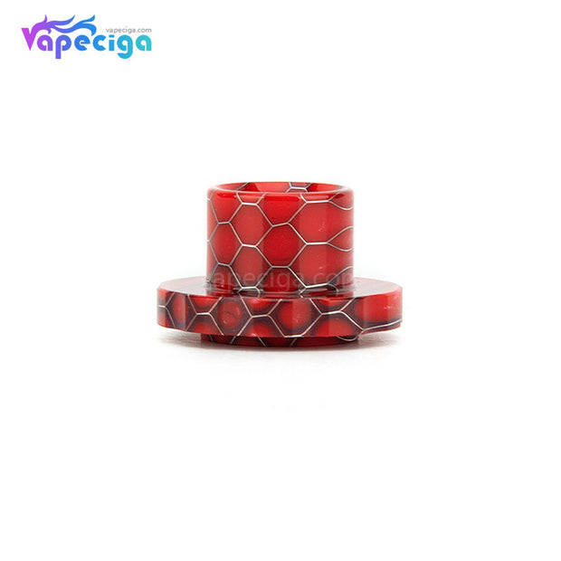 REEVAPE AS129S Resin Replacement Drip Tip Red For Aspire Cleito 120 Tank