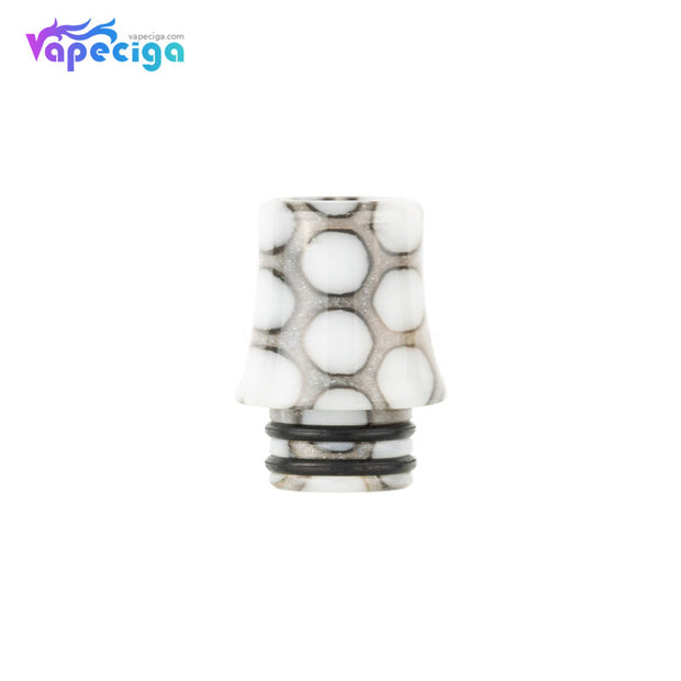 White REEVAPE AS254SR 510 Resin Replacement Drip Tip