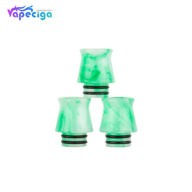 Green REEVAPE AS253 510 Resin Replacement Drip Tip