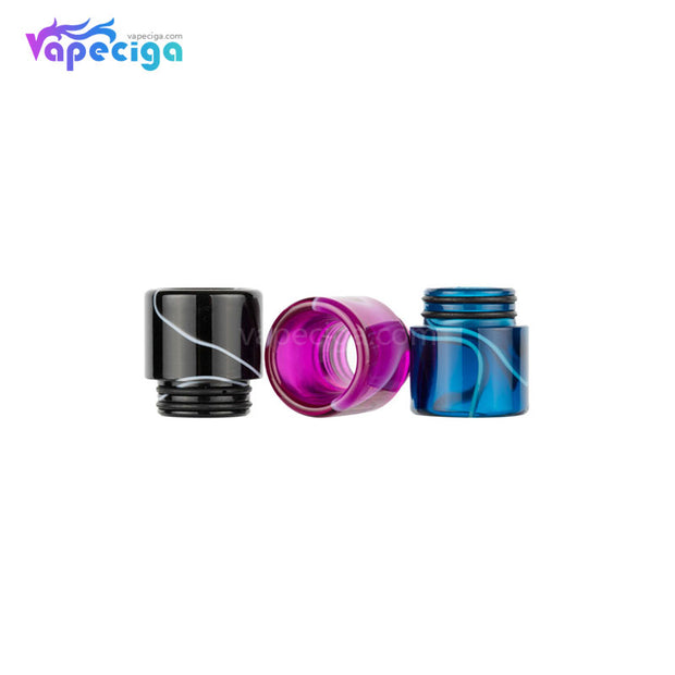 REEVAPE AS240 Universal 810 Resin Replacement Drip Tip 3 Colors Choose