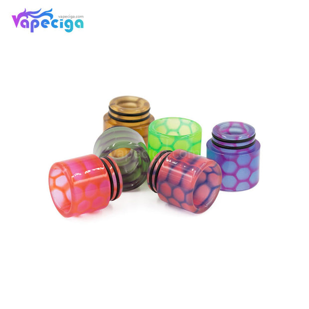 REEVAPE AS252WY  Universal 810 Resin Replacement Drip Tip 6 Colors Real Shots