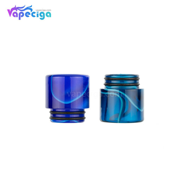Blue & Green REEVAPE AS240 Universal 810 Resin Replacement Drip Tip Display