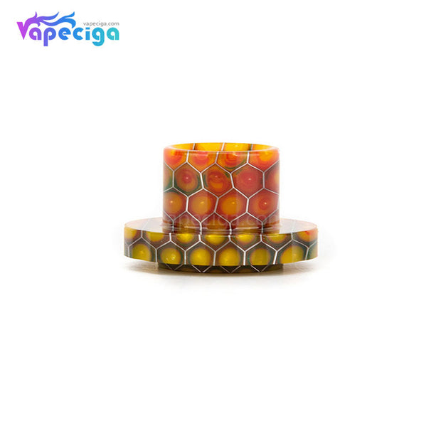 REEVAPE AS129S Resin Replacement Drip Tip Yellow For Aspire Cleito 120 Tank
