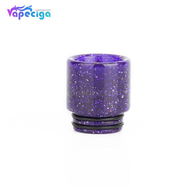 Purple REEVAPE AS116E 810 Resin Replacement Drip Tip
