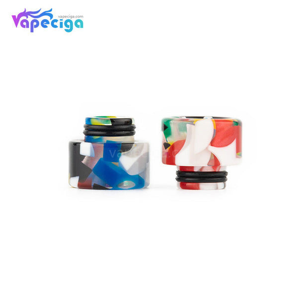 REEVAPE AS138D 510 Resin Replacement Drip Tip 2 Colors Show