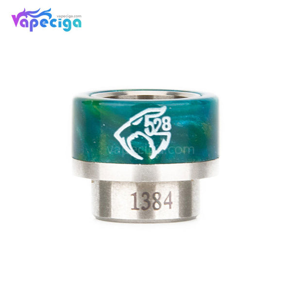REEVAPE AS133 810  Resin Replacement Drip Tip Green1