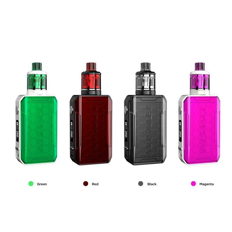 WISMEC SINUOUS V200 200W TC Mod Kit with Amor NSE Atomizer