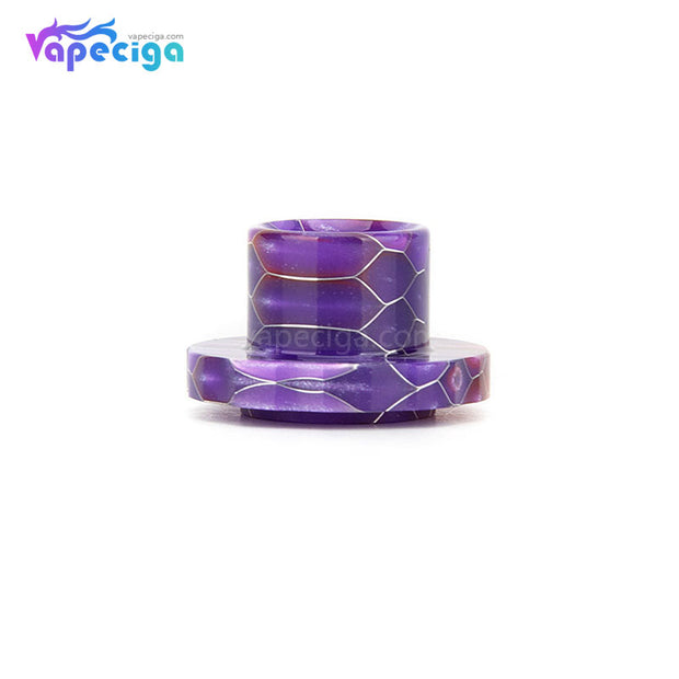 REEVAPE AS129S Resin Replacement Drip Tip Purple For Aspire Cleito 120 Tank