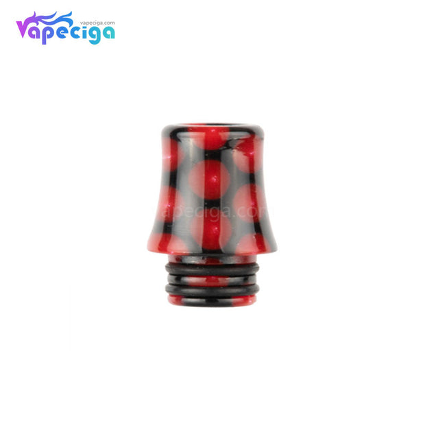 Red REEVAPE AS254SR 510 Resin Replacement Drip Tip