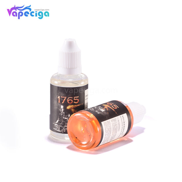 1765 E-liquid 40PG / 60VG 0mg / 3mg 30ml Display