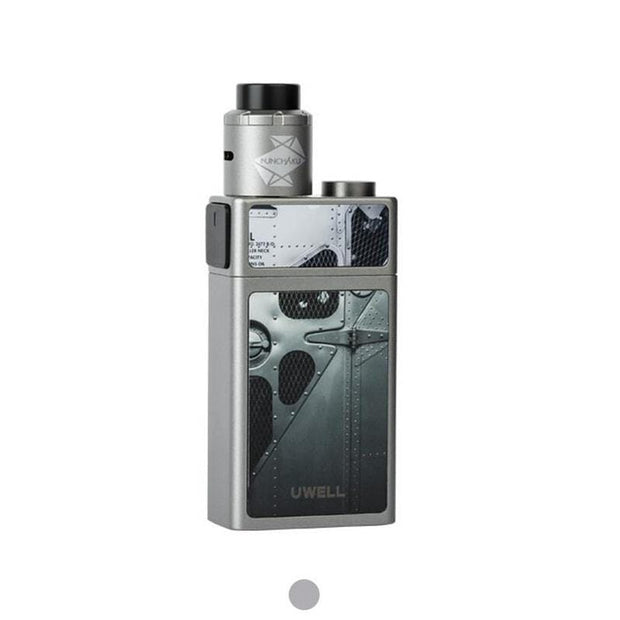 Uwell Blocks Squonk 90W Kit with Nunchaku RDA Grey