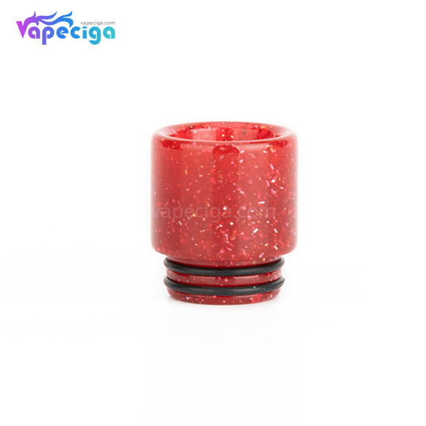 Red REEVAPE AS116E 810 Resin Replacement Drip Tip