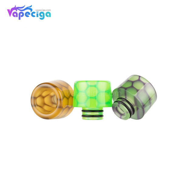 REEVAPE AS250WY Universal 510 Resin Replacement Drip Tip 3 Colors Available