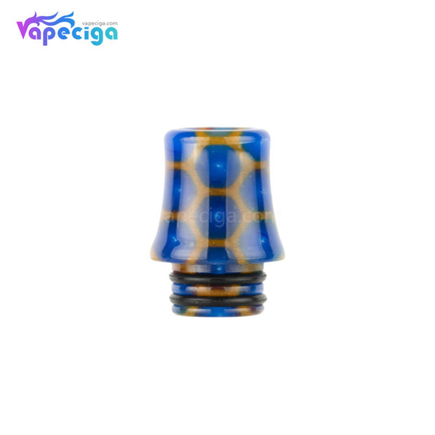 Blue REEVAPE AS254SR 510 Resin Replacement Drip Tip