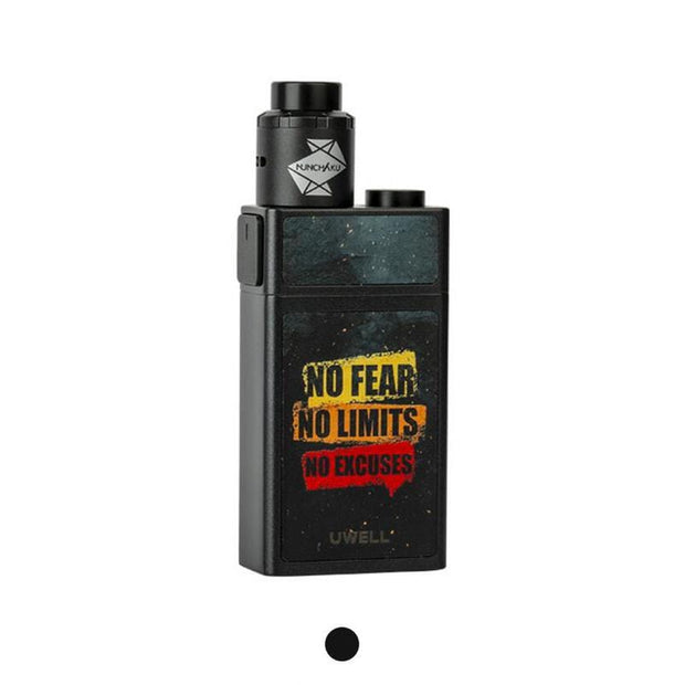 Uwell Blocks Squonk 90W Kit with Nunchaku RDA Black