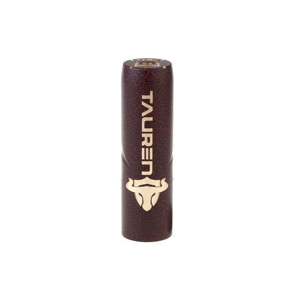 Thunderhead Creation Tauren Mechanical Mod Brass Cracked Red and Black