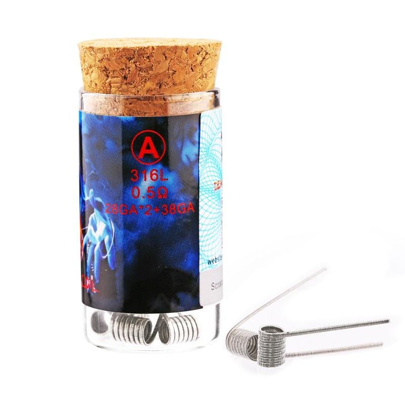 Demon Killer 316L Stainless Steel RDA Flame Coil