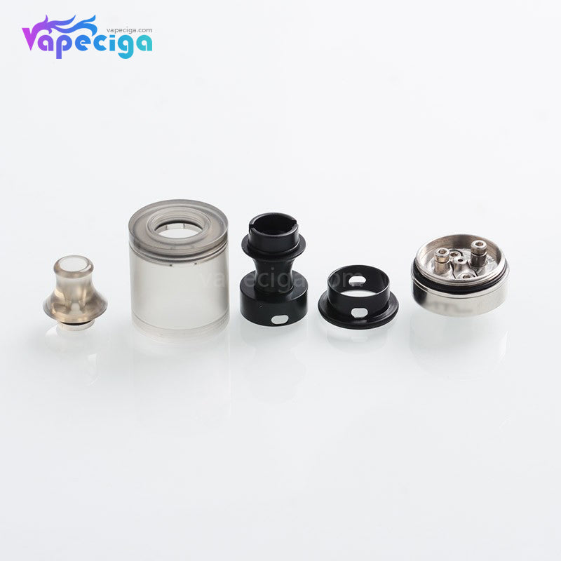 Across Vape Wormhole Dvarw Style MTL RTA 22mm 3ml SS + PMMA / PEI