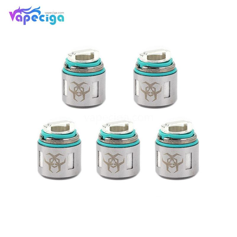 Advken Dominator Replacement Coil Head 0.16 / 0.2 / 0.4 / 0.6ohm 5PCs