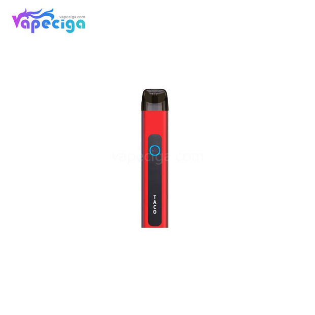 Again Taco Pod System Starter Kit 550mAh 2ml Red