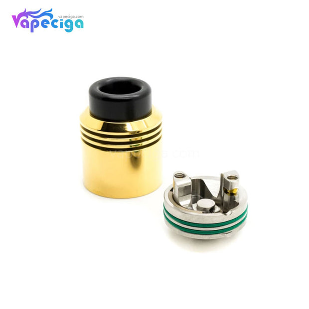 Asmodus x Thesis Barrage RDA 24mm Gold Components
