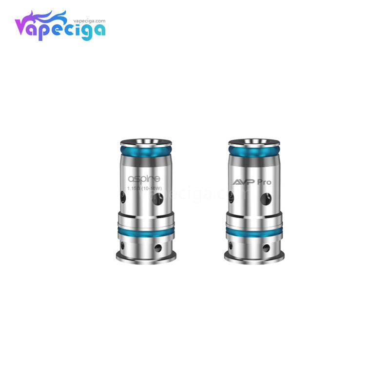 Aspire AVP Pro Replacement 0.65ohm Mesh / 1.15ohm Regular Coil Head 5PCs