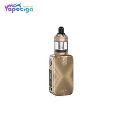 Aspire Rover 2 VW Mod Kit with Nautilus XS Tank 40W 2200mAh 4ml Champagne