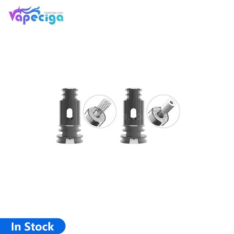 BOHR Flask Replacement Mesh 0.4ohm / Ceramic 1.2ohm Coil Head 5PCs